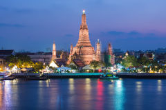 Wat Arun Buddhist religious landmark Stock Photo