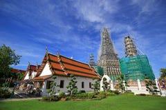Wat Arun Buddhist-tempel Stock Afbeeldingen