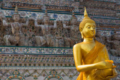 Wat Arun is a Buddhist temple Royalty Free Stock Photos