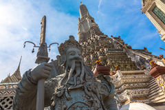 Wat Arun is a Buddhist temple. In Bangkok, Thailand 2016 Stock Images