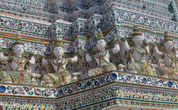 Wat Arun is a Buddhist temple. In Bangkok, Thailand 2016 Royalty Free Stock Images