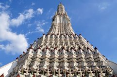 Wat Arun buddhist temple, Bangkok, Thailand royalty free stock photo