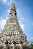 Wat Arun Buddhist Temple em Banguecoque, Tail?ndia fotos de stock royalty free