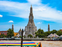 Wat Arun of Wat Chaeng, Bangkok Thailand royalty-vrije stock afbeelding