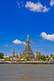 Wat Arun and cloudscape Royalty Free Stock Photography