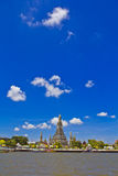 Wat Arun and cloudscape Stock Photo