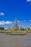 Wat Arun and cloudscape Royalty Free Stock Photo