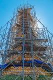 Wat Arun - de tempel van dageraad in Bangkok, Thailand Stock Foto's