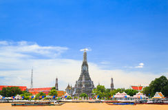 Wat Arun, de Tempel van Dawn, Bangkok, Thailand Stock Fotografie