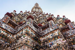 Wat Arun decorations Stock Image