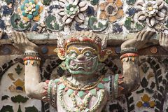 Wat Arun Demon Stock Photography