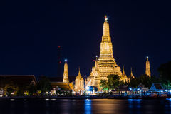 Wat Arun at dusk Stock Photography