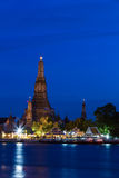 Wat Arun at dusk Royalty Free Stock Image