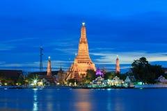 Wat Arun eller tempel av gryning Royaltyfri Bild