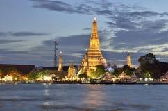 Wat Arun em Banguecoque fotos de stock royalty free