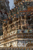 Wat Arun em Banguecoque - Temple of Dawn Fotografia de Stock Royalty Free