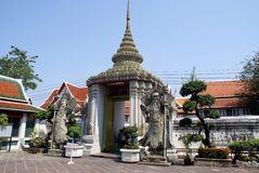 Wat Arun exit in Bangkok, Thailand, Asia Stock Photos