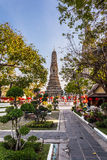 Wat Arun Garden Royalty Free Stock Images