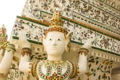 Wat Arun i Bangkok Arkivfoto