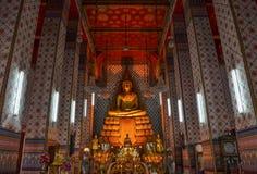 Wat Arun i Bangkok Thailand Fotografering för Bildbyråer