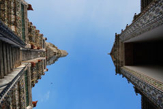 Wat Arun i Bangkok, Thailand royaltyfri bild