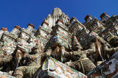 Wat Arun (il Temple of Dawn) Fotografie Stock Libere da Diritti