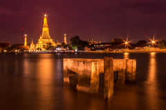 Wat Arun landmark of thailand Royalty Free Stock Images