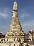 Wat Arun - le Temple of Dawn à Bangkok Thaïlande Photo stock
