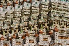 Wat Arun - le Temple of Dawn, Bangkok Photos stock