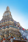 Wat Arun - le Temple of Dawn à Bangkok, Thaïlande Image libre de droits