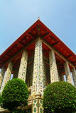 Wat Arun lunedì Dop Putthabat Fotografia Stock