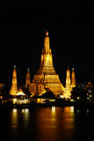 Wat Arun at night Royalty Free Stock Photo