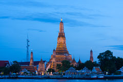 Wat Arun at night. Royalty Free Stock Image