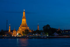 Wat Arun at night. Royalty Free Stock Photography