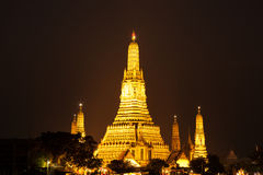 Wat Arun at night. Stock Photo