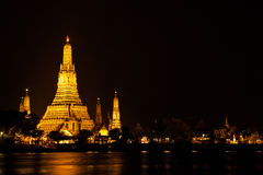 Wat Arun at night. Royalty Free Stock Photos