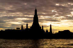 Wat Arun ou o Temple of Dawn Fotos de Stock Royalty Free