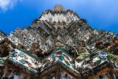 Wat Arun - primo piano Immagini Stock Libere da Diritti