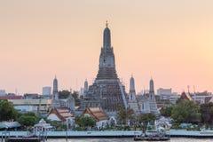 Wat Arun Rajwararam, ορόσημο της Ταϊλάνδης Στοκ Εικόνες