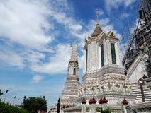 Wat Arun Rajwararam στη Μπανγκόκ της Ταϊλάνδης Στοκ φωτογραφία με δικαίωμα ελεύθερης χρήσης