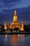 Wat Arun Rajwararam Immagine Stock Libera da Diritti