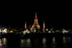 Wat Arun Rajwararam Foto de Stock Royalty Free
