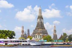 Wat Arun Rajwararam. Wat Arun bangkok in thailand Stock Images