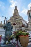 Wat Arun Ratchawaram, висок a красивый в Таиланде Стоковая Фотография RF