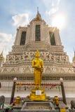 Wat Arun Ratchawaram, висок a красивый в Таиланде Стоковое фото RF