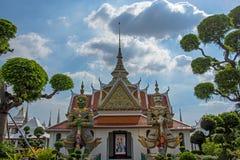 Wat Arun Ratchawaram, de mooie tempel van A in Thailand Royalty-vrije Stock Afbeelding