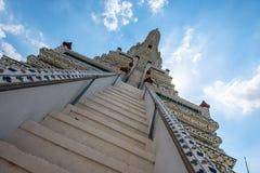 Wat Arun Ratchawaram, de mooie tempel van A in Thailand Stock Afbeeldingen