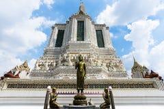 Wat Arun Ratchawaram, de mooie tempel van A in Thailand Royalty-vrije Stock Fotografie