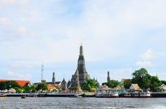 Wat Arun Ratchawararam Immagine Stock Libera da Diritti