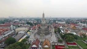 Wat Arun Ratchawararam, Bangkok Thailand stock video footage